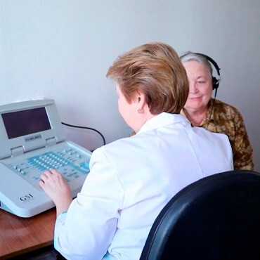 Diagnostics and electro-acoustic hearing correction